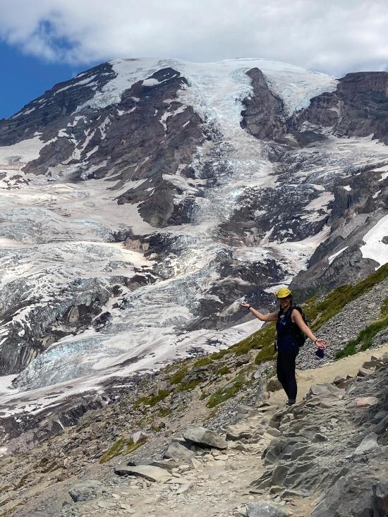 me at nisqually glacier