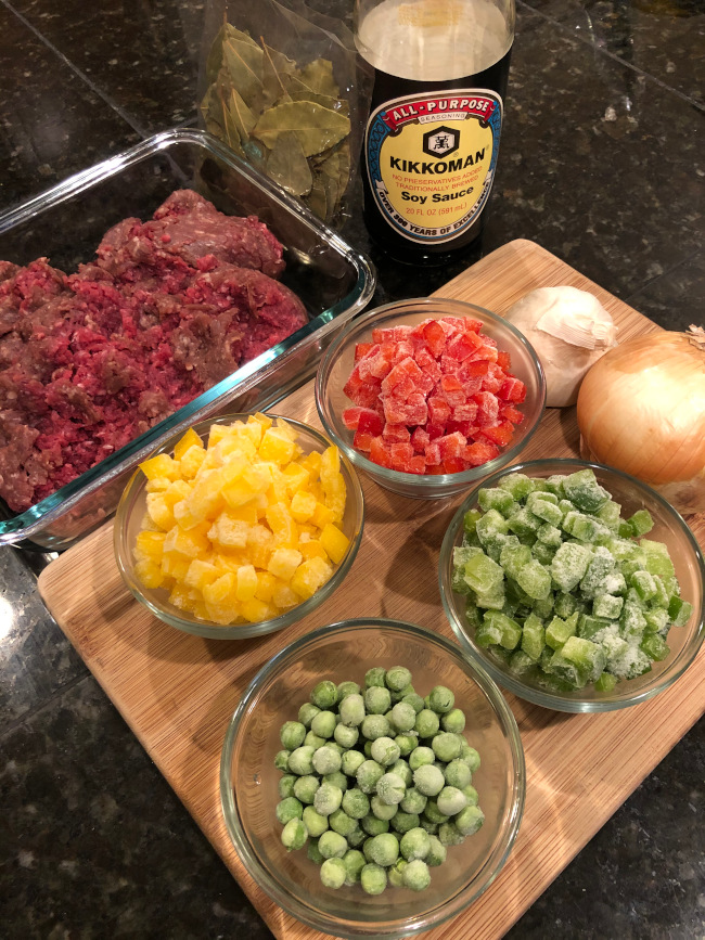giniling ingredients